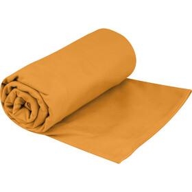 Sea to Summit Drylite Håndklæde Antibakteriel XL, orange